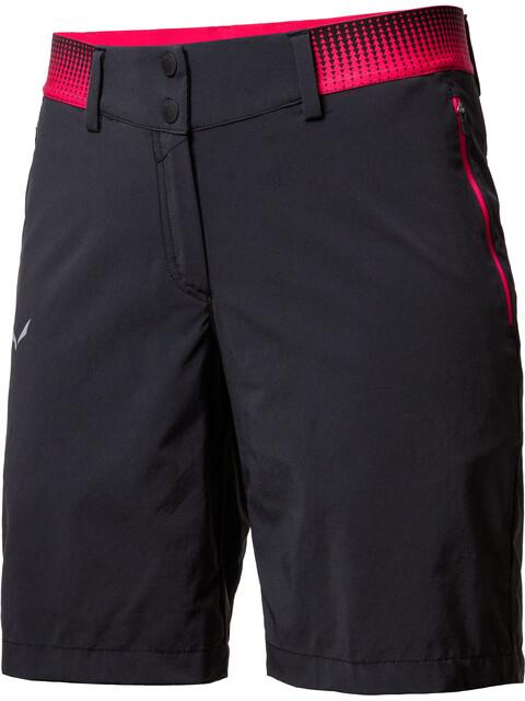 Salewa Pedroc Cargo 2 Durastretch Shorts Women Black Out
